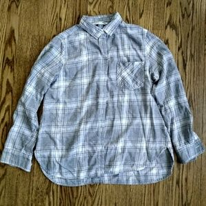 The Classic Shirt by Old Navy, gray flannel